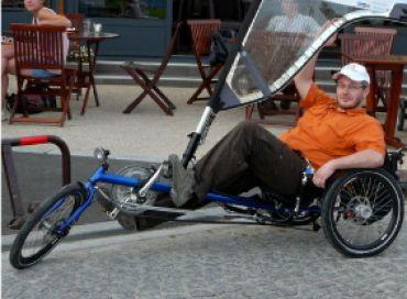 Le vélo à voile