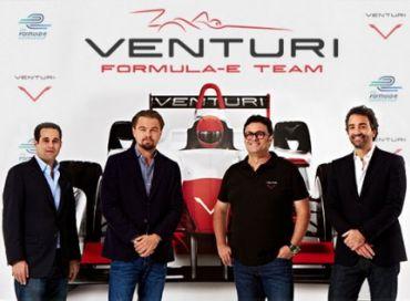 Dicaprio fonde l'écurie monégasque de formula E avec Venturi
