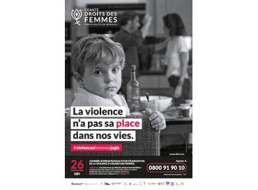 La violence n'a pas sa place dans nos vies
